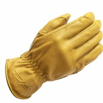 leren ace handschoenen beige