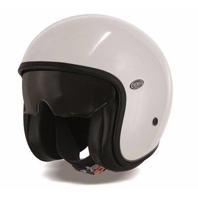 Premier vintage U8 white open face helmet
