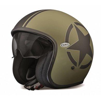 Premier vintage evo star millitary open face helmet