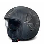Premier vintage carbon star BM open face helmet
