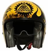 Premier vintage BD 12 BM open face helmet