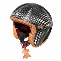 vintage edizione anniversario open face helmet | carbon