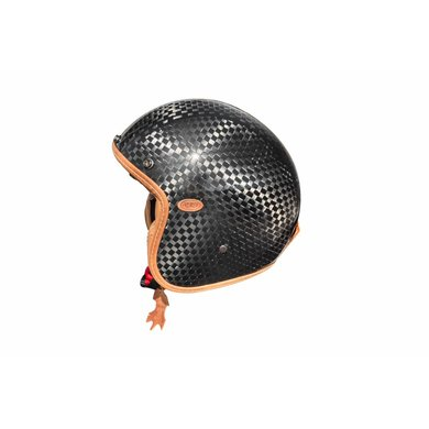 Premier vintage edizione anniversario open face helmet | carbon