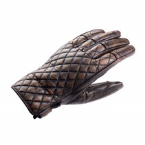 baldrine motorhandschoenen bruin | vrouwen
