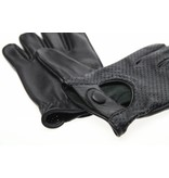 Swift retro racing mesh gloves zwart | leren handschoenen