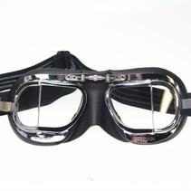 mark 9 compact deluxe motorbril zwart