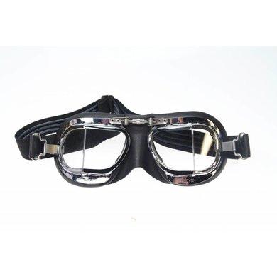 Halcyon mark 9 compact deluxe motorbril zwart