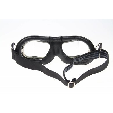Halcyon mark 9 compact deluxe motor goggles black
