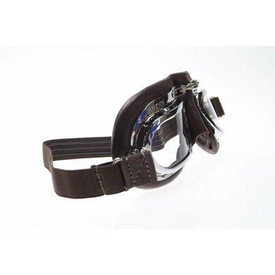 Halcyon mark 410 motor goggles brown