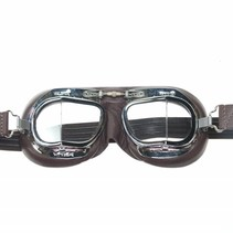 mark 49 pilot goggles brown leather