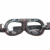 mark 49 pilotenbril bruin leer
