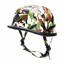 Duitse chopper helm camouflage