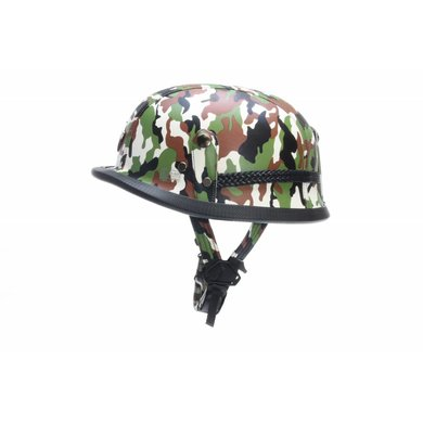 German chopper helmet camouflage