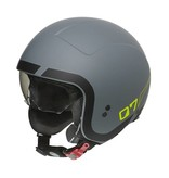 Premier rocker LN Y grey BM jet helmet