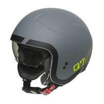 rocker LN Y grey BM jet helmet