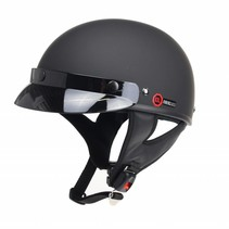 RB-480 chopper helmet matt black