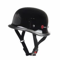 RK-300 duitse motorhelm zwart