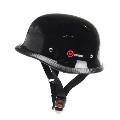Redbike RK-300 duitse motorhelm zwart