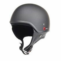 RB-450 half helmet matt black
