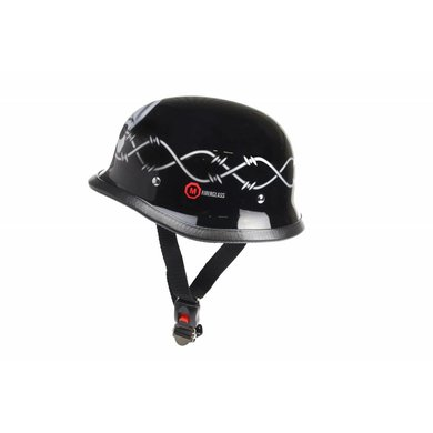 Redbike RK-304 german helmet wired skull