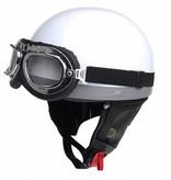 White half helmet