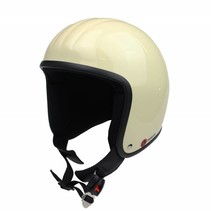 RB-671 open face helmet white ivory