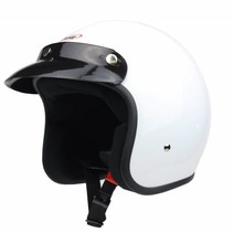 RB-710 retro jet helmet white
