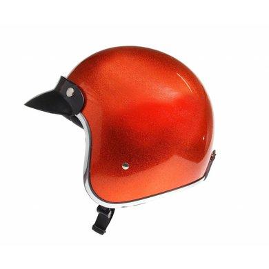 Redbike RB-765 retro jethelm metal flake orange