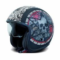 vintage evo SK9 BM open face helmet