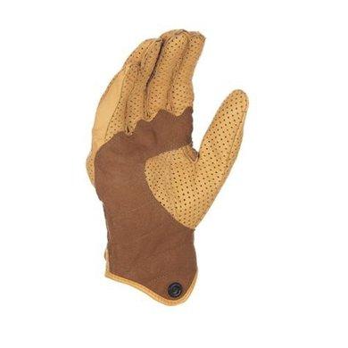 Richa custom perforated beige motor gloves