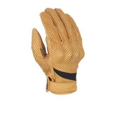 Richa custom perforated beige motorhandschoenen