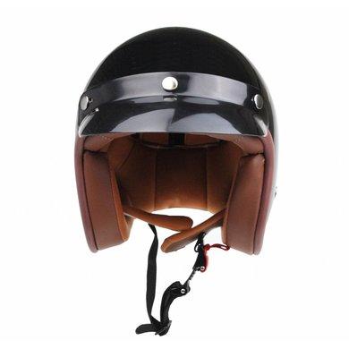 Redbike RB-766 jethelm glans zwart