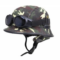 German helmet woodland camouflage