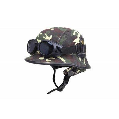 Duitse helm woodland camouflage