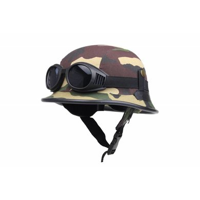 Duitse motorhelm camouflage