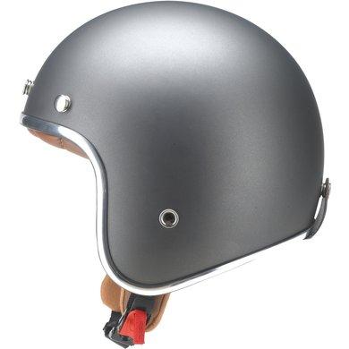 Redbike RB-756 retro jet helmet titanium