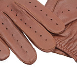 Swift driver leather gloves nappa brown