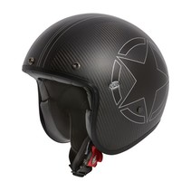 le petit star carbon open face helmet
