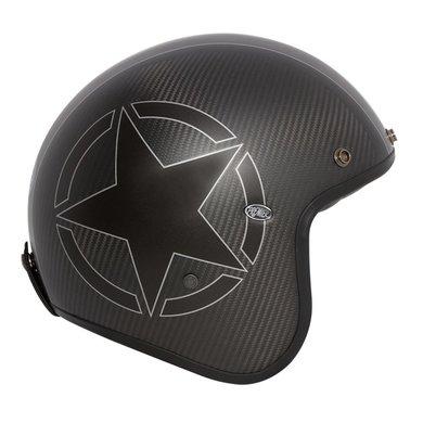 Premier le petit star carbon open face helmet