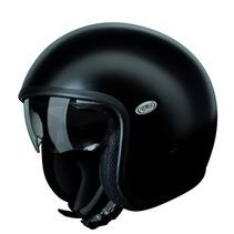 vintage U9 BM matt black open face helmet