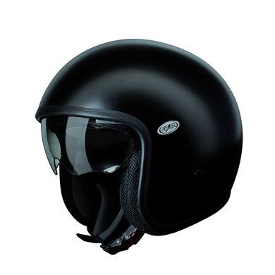 Premier vintage U9 BM matt black open face helmet