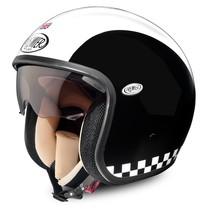 vintage retro open face helmet