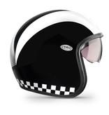 Premier vintage retro open face helmet