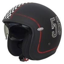 vintage FL9 open face helmet