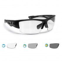 photochromic F1001A  black motor sunglasses