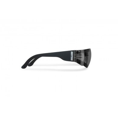 Bertoni antifog AF150C black motor goggle smoke lenses