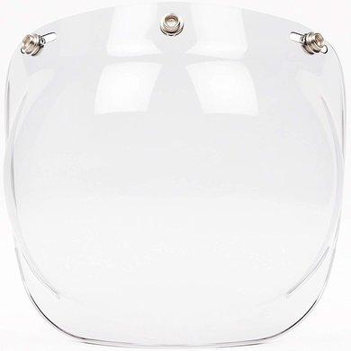 Bubble visor clear