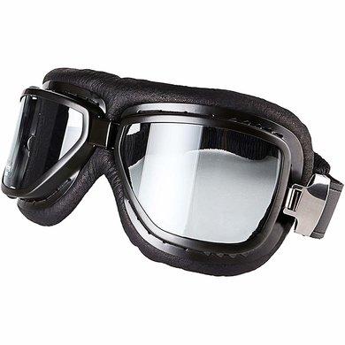 Cafe racer motor goggles black