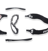 Bertoni photochromic F333A matt black motor goggles