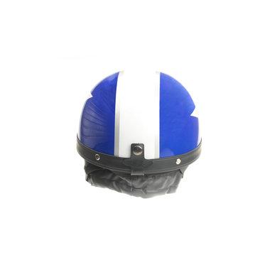 Classic blauw - witte pothelm